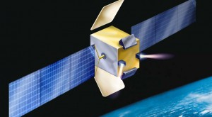 Amos-E, an all-electric version of Israel Aerospace Industries' Amos telecommunications satellite line